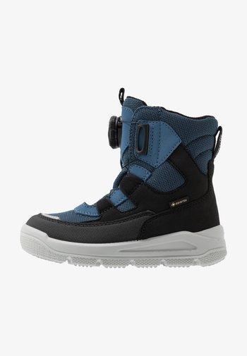 MARS - Snowboots  - schwarz/blau