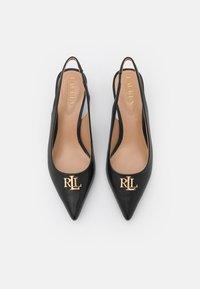Lauren Ralph Lauren - LOXDALE - Classic heels - black - 4