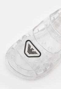 Emporio Armani - UNISEX - Sandals - transparent - 5