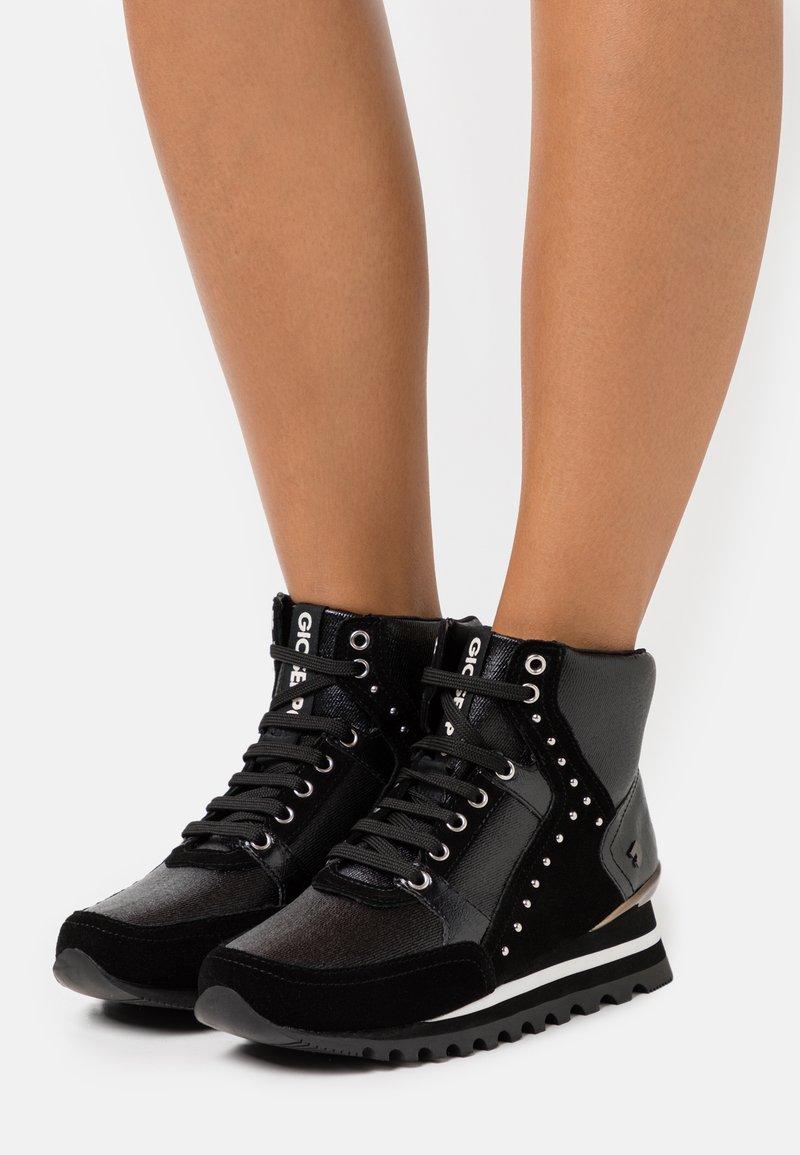 Gioseppo - MANWALEK - High-top trainers - black