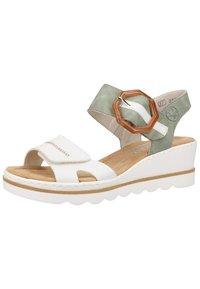 Rieker - Platform sandals - white - 1