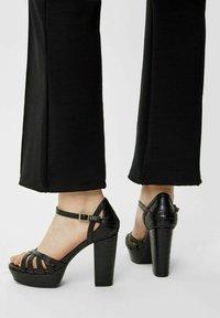 Bianco - BIACARLY - High heeled sandals - black - 0