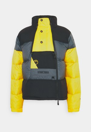 STEEP TECH JACKET UNISEX - Down jacket - vanadis grey/ black/lightning yellow