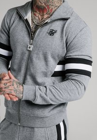 SIKSILK - LUXE ZIP THROUGH FUNNEL NECK - Sudadera con cremallera - grey - 4