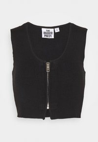 The Ragged Priest - Top - black - 0