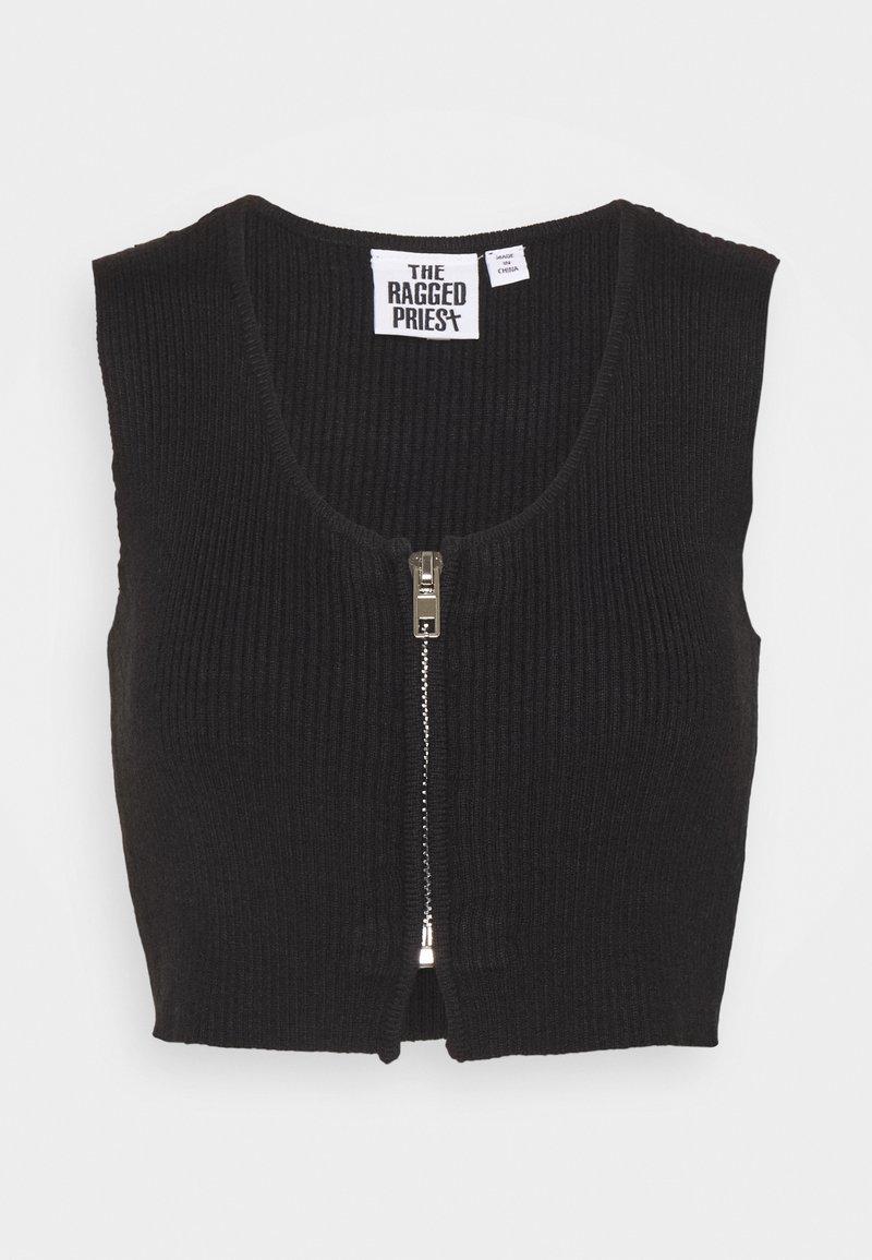 The Ragged Priest - Top - black