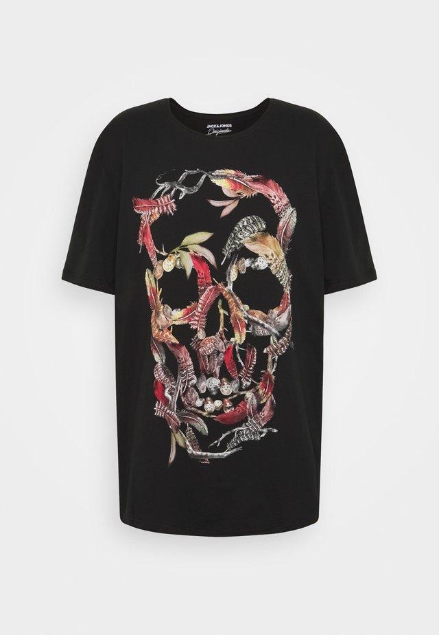 JORCLAUS TEE SS CREW NECK - T-shirt con stampa - tap shoe