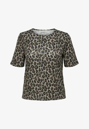 T-shirt print - tannin