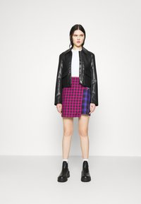 The Ragged Priest - MATTER SKIRT - Mini skirt - pink/purple/black - 1