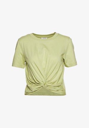 WILMA TOP 2 PACK - Basic T-shirt - green/white