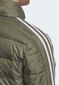 adidas Performance - ESSENTIALS PRIMEGREEN OUTDOOR DOWN - Down jacket - green - 5