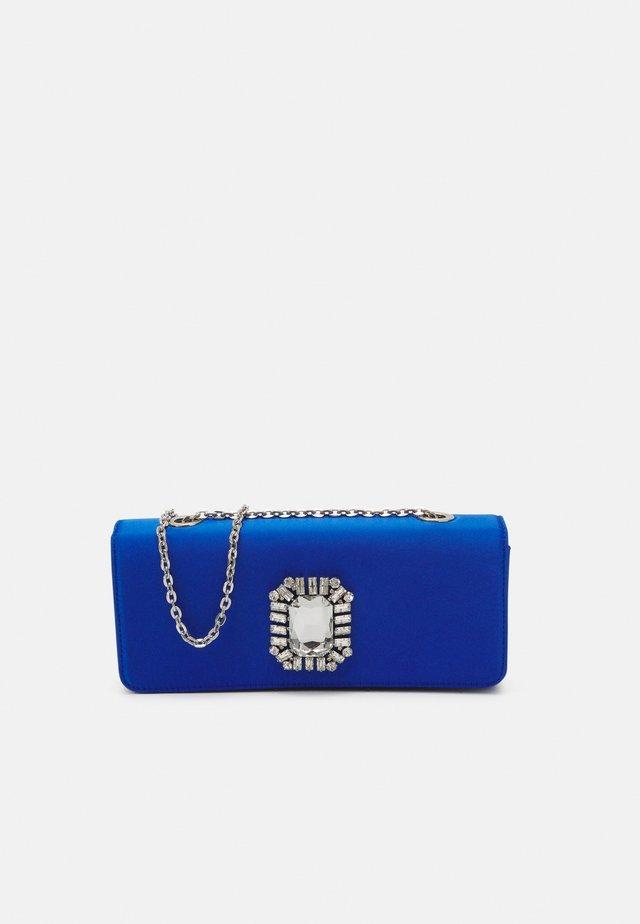 CAROLINE ELONGATED - Clutch - blue