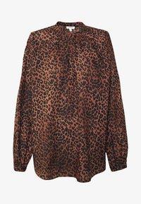 MILA - Button-down blouse - classic leopard