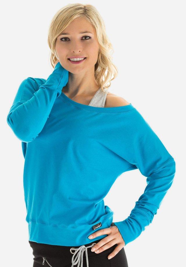 LONGSLEEVE - Sweatshirt - türkis
