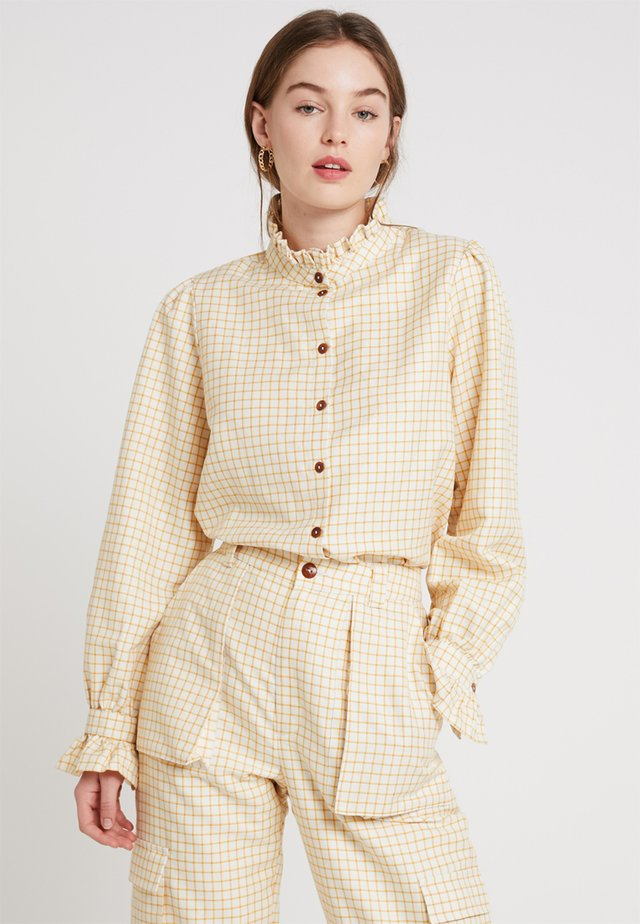 POSAGNES  - Button-down blouse - apricot sherbet