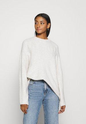 MONA  - Pullover - off-white melange