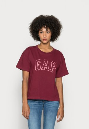 EASY TEE - Print T-shirt - red delicious