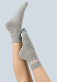 Vans - WM CLASSIC ANKLE SOCK (6.5-10, 1PK) - Socks - grey heather - 1