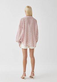 PULL&BEAR - Koszula - pink - 2