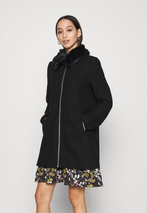 JACKET - Classic coat - black