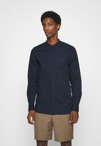 Tommy Hilfiger - SLIM STRETCH SHIRT - Shirt - blue - 0