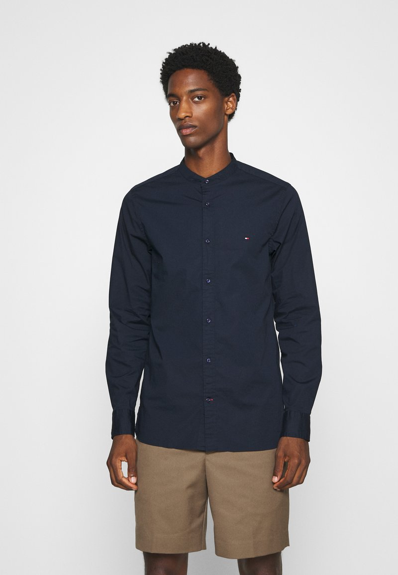 Tommy Hilfiger - SLIM STRETCH SHIRT - Shirt - blue