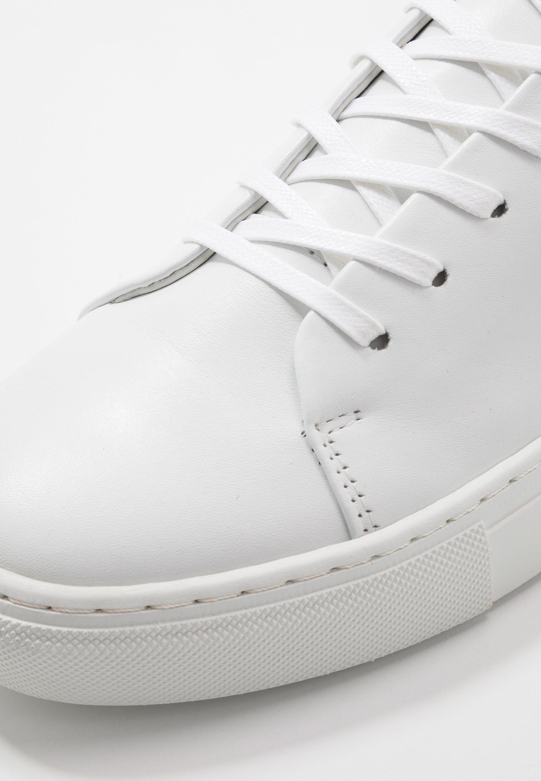 Bianco BIAAJAY LEATHER SNEAKER - Zapatillas - white - Calzado de hombre