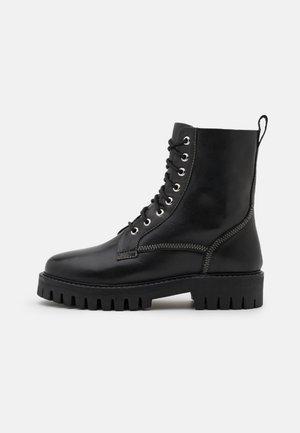 BILLIE - Lace-up ankle boots - black