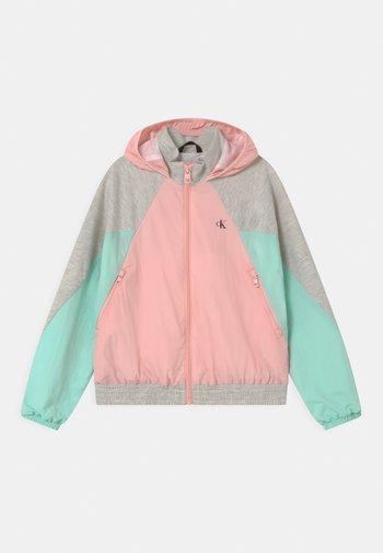 HYBRID COLOUR BLOCK  - Training jacket - pink