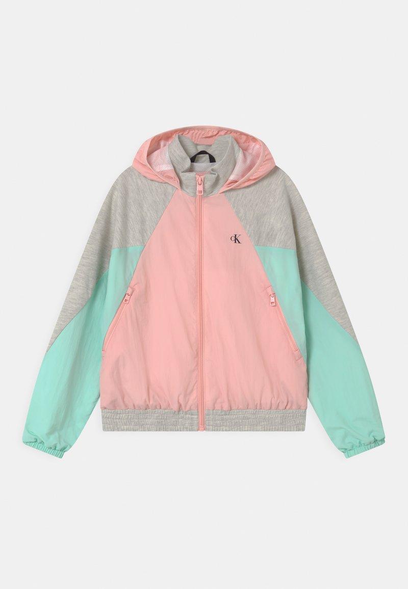 Calvin Klein Jeans - HYBRID COLOUR BLOCK  - Sportovní bunda - pink