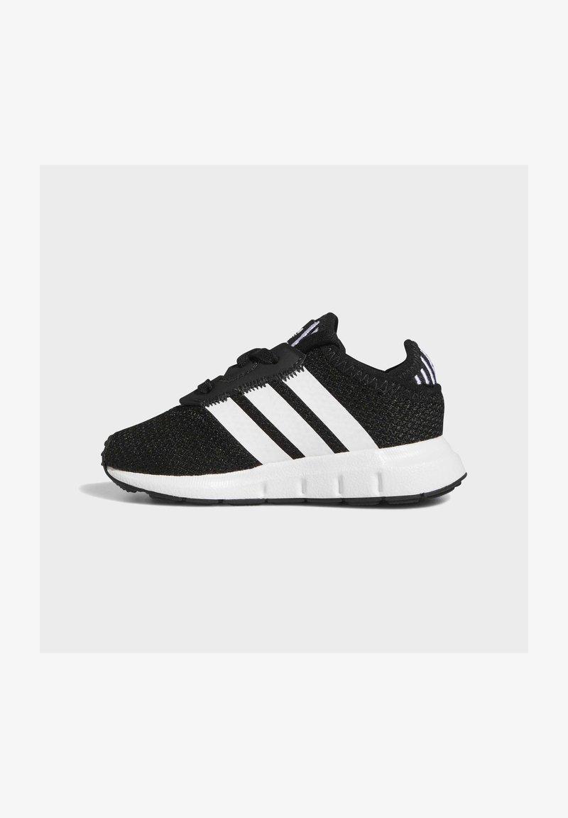 adidas Originals - SWIFT RUN UNISEX - Trainers - core black/ftwr white/core black
