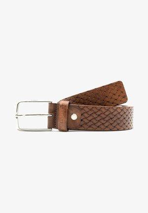 Cintura intrecciata - marrone