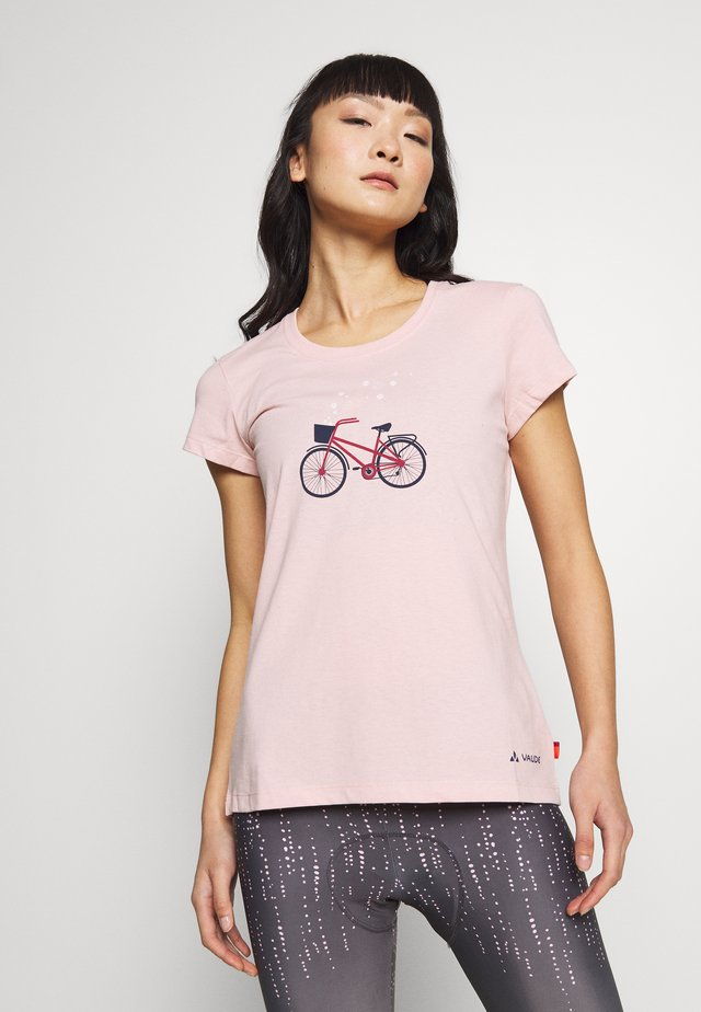 CYCLIST - Printtipaita - rosewater