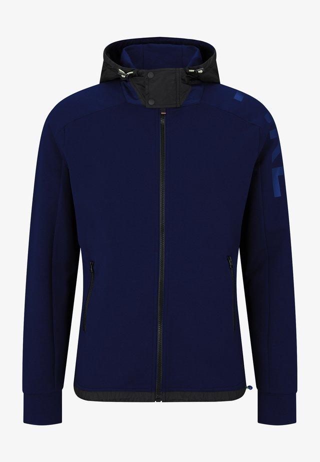 veste en sweat zippée - navy-blau