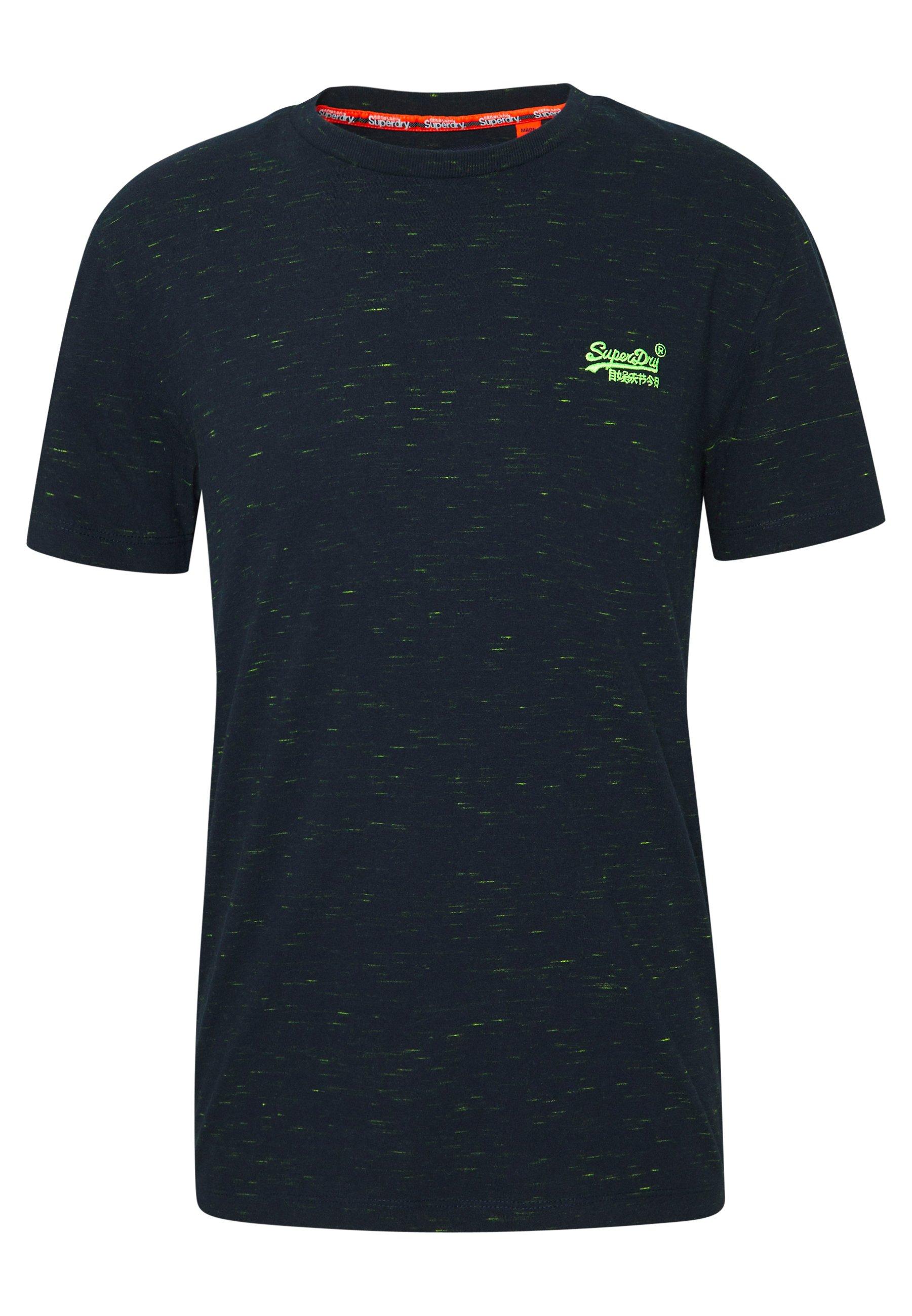 Superdry Vintage Crew - T-shirts Navy