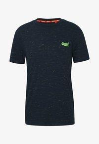 VINTAGE CREW - Basic T-shirt - navy