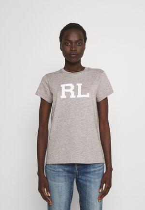 SHORT SLEEVE - T-shirts med print - grey