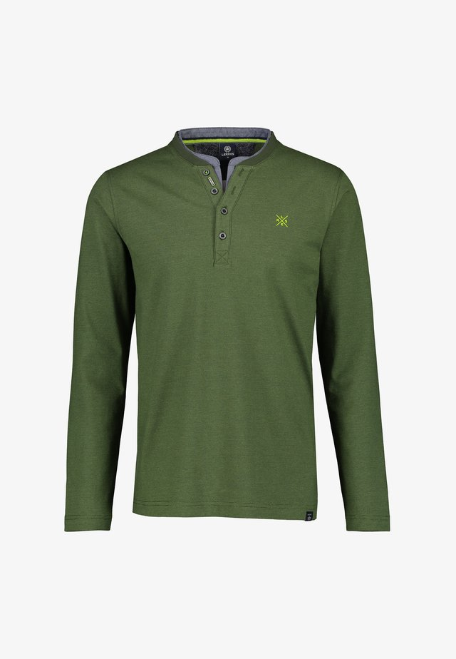 Long sleeved top - reed green
