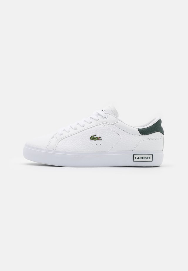 POWERCOURT - Baskets basses - white/dark green