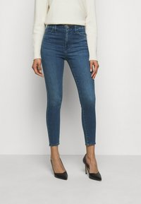 J Brand - DARTED HIGH RISE CROP - Jeans Skinny Fit - moxie - 0
