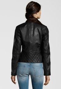 7eleven - KATERINA - Leather jacket - black - 2
