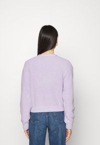 Monki - ZETA CARDIGAN - Cardigan - purple - 2