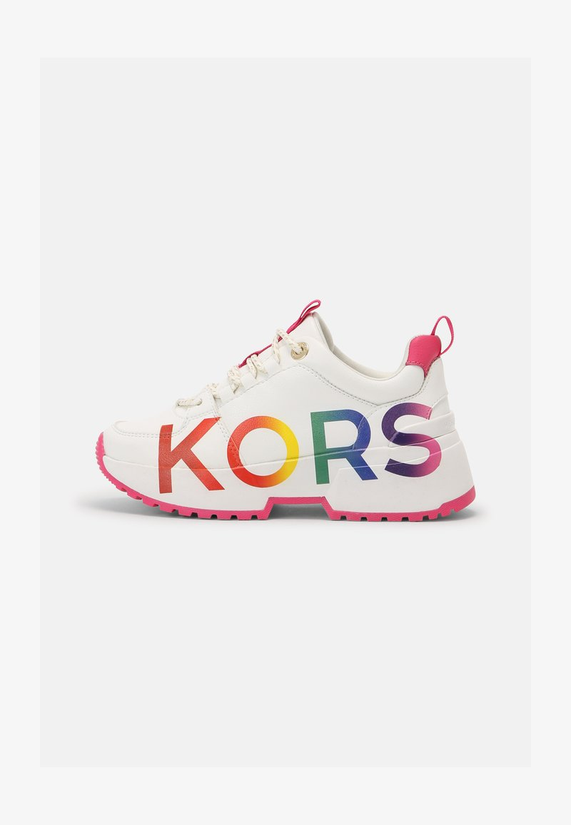 MICHAEL Michael Kors - COSMO MEETU - Sneakers basse - white smooth