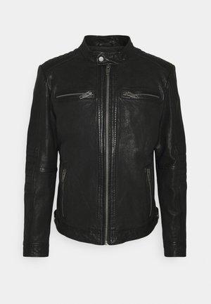 BERLIN - Leren jas - black
