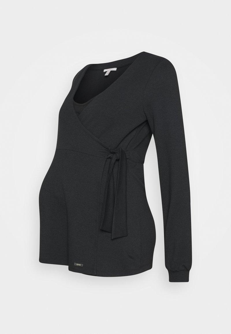Esprit Maternity - Long sleeved top - gunmetal