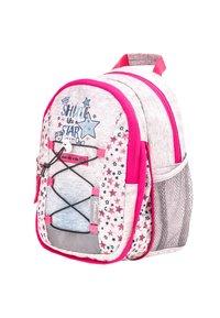 Belmil - MINI KIDDY - Rucksack - light grey  pink - 4