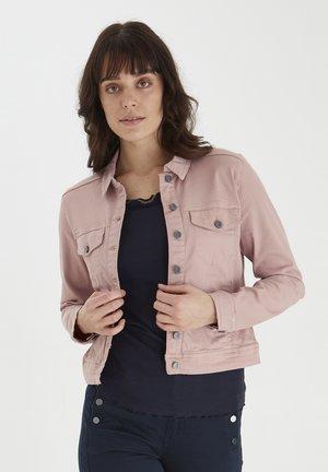 FRANSA  - Denim jacket - misty rose