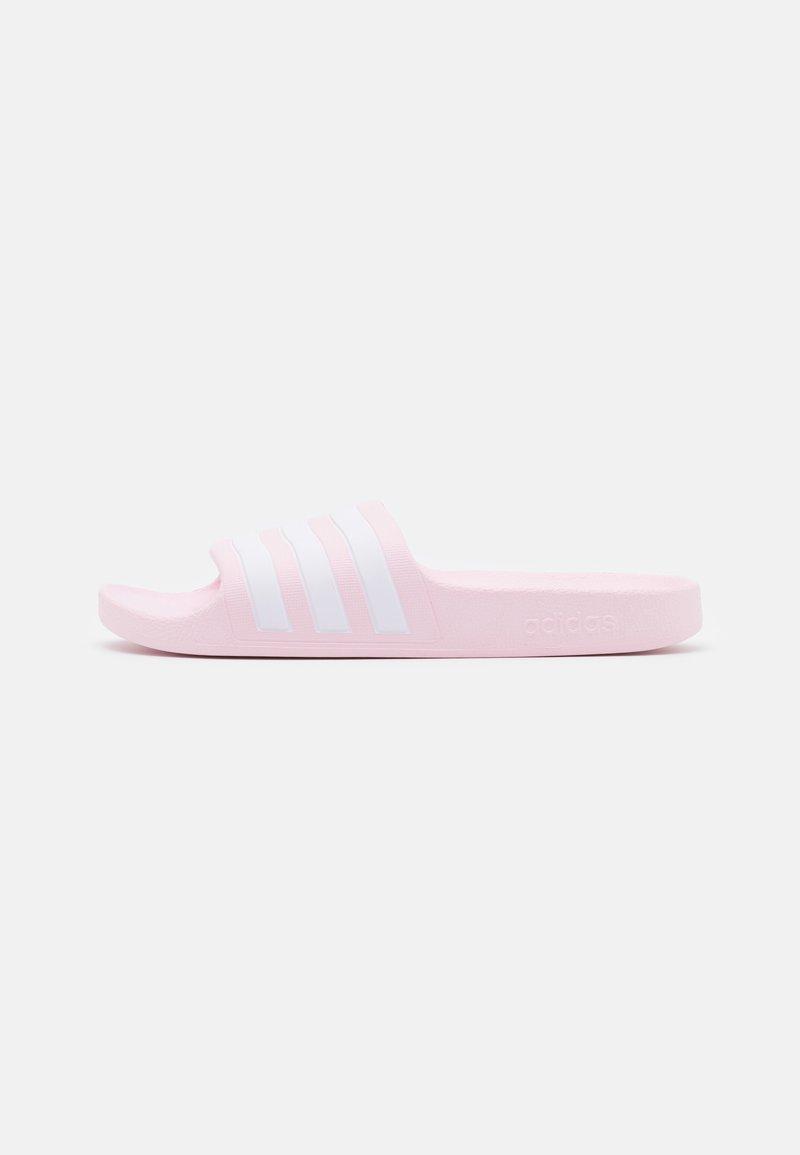 adidas Performance - ADILETTE AQUA UNISEX - Badslippers - clear pink/footwear white