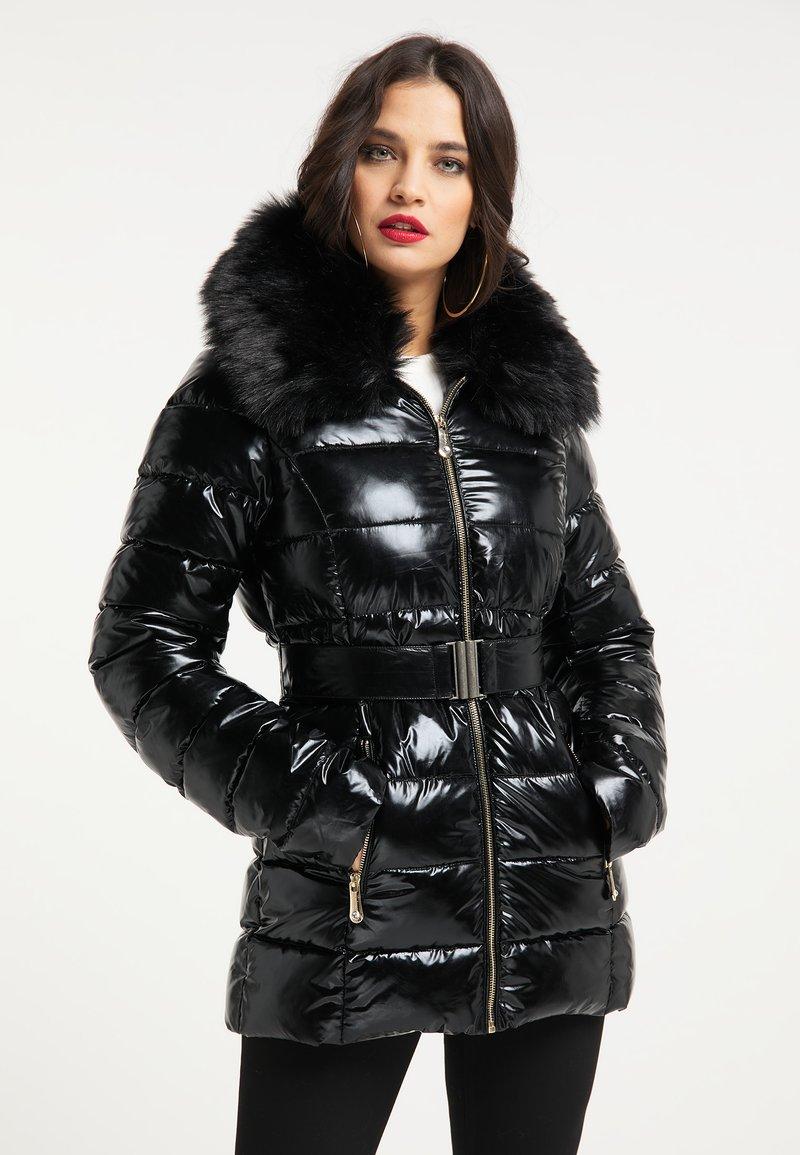 faina - Winter jacket - schwarz
