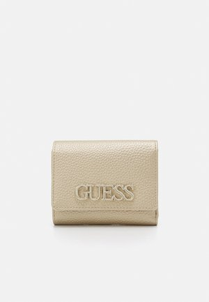 UPTOWN CHIC SMALL TRIFOLD - Wallet - gold
